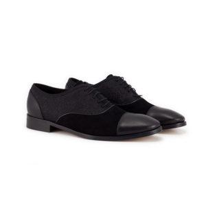 Scarpe nere senza lacci