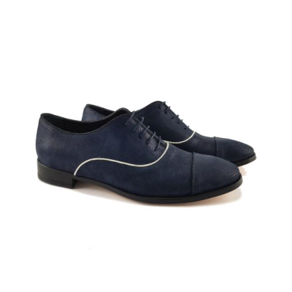 Men's Blue lace-up shoe