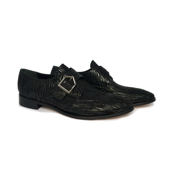 Men's Lace-up shoe with buckle GARY